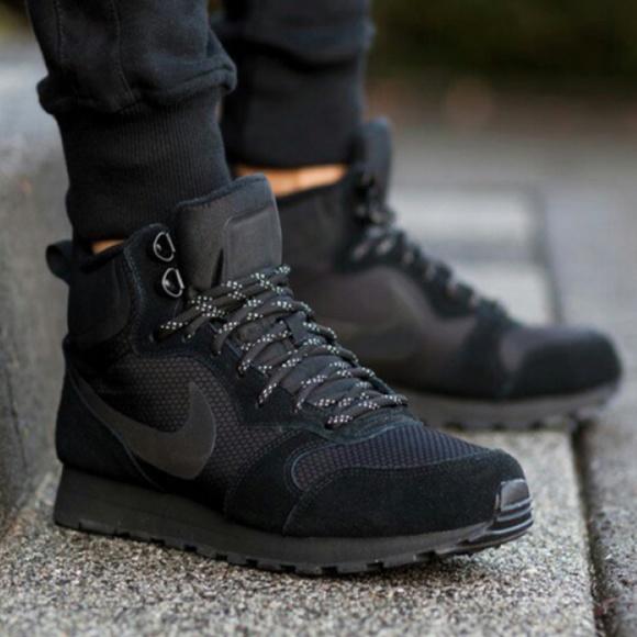 Majestuoso medio Simplificar  Nike Shoes | Nike Md Runner 2 Mid Premium Mens Sneakers | Poshmark
